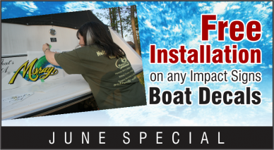 June Special - Boat Decals